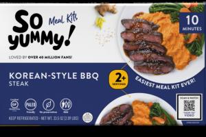 MILD KOREAN-STYLE BBQ STEAK MEAL KITS