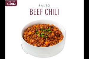 MILD PALEO BEEF CHILI