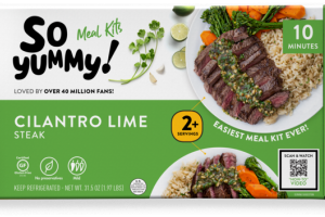 CILANTRO LIME STEAK MEAL KIT