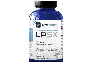 LPX ENHANCED ABSORPTION LPSX PILLS HEMP SUPPLEMENT