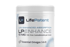 THC-FREE LPX ENHANCED ABSORPTION LP ENHANCE CANNABINOIDS 10 MG HEMP SUPPLEMENT