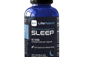 LPX ENHANCED ABSORPTION SLEEP HEMP SUPPLEMENT CAPSULES