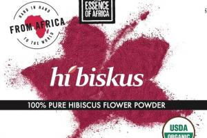 100% PURE HIBISCUS FLOWER POWDER PLANTBASED NUTRITIONAL SUPPLEMENT