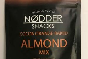 COCOA ORANGE BAKED ALMOND MIX SNACKS
