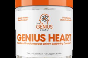 GENIUS HEART DIETARY SUPPLEMENT VEGGIE CAPSULES