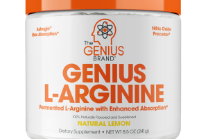 NATURAL LEMON GENIUS L-ARGININE DIETARY SUPPLEMENT