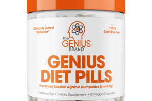 GENIUS DIET PILLS DIETARY SUPPLEMENT VEGGIE CAPSULES