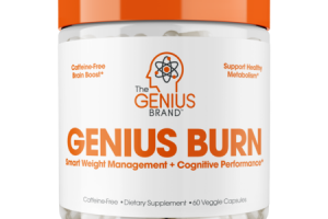 GENIUS BURN SMART WEIGHT MANAGEMENT + COGNITIVE PERFORMANCE DIETARY SUPPLEMENT VEGGIE CAPSULES