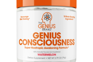 GENIUS CONSCIOUSNESS SUPER NOOTROPIC AWAKENING FORMULA DIETARY SUPPLEMENT, WATERMELON