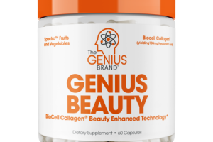 GENIUS BEAUTY DIETARY SUPPLEMENT CAPSULES