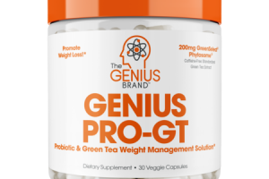 GENIUS PRO-GT PROBIOTIC & GREEN TEA WEIGHT MANAGEMENT SOLUTION DIETARY SUPPLEMENT VEGGIE CAPSULES
