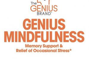 GENIUS MINDFULNESS DIETARY SUPPLEMENT VEGGIE CAPSULES