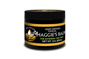 HEMP-DERIVED TOPICAL MAGGIE'S BALM