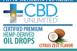 CITRUS ZEST HEMP-DERIVED DIETARY SUPPLEMENT OIL DROPS