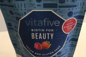 BIOTIN FOR BEAUTY GUMMY VITAMIN DIETARY SUPPLEMENT