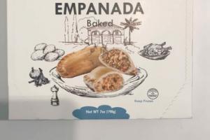 CHICKEN CHIPOTLE EMPANADA BAKED