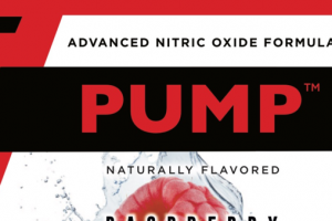PUMP ADVANCED NITRIC OXIDE FORMULA DIETARY SUPPLEMENT, RASPBERRY