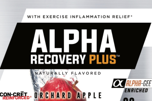 ALPHA RECOVERY PLUS WITH EXERCISE INFLAMMATION RELIEF DIETARY SUPPLEMENT, ORCHARD APPLE