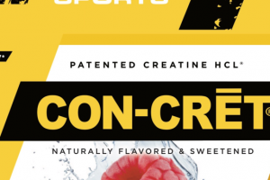 PATENTED CREATINE HCL DIETARY SUPPLEMENT, RASPBERRY