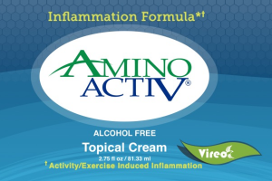 ALCOHOL FREE ACTIVITY/EXERCISE INDUCED INFLAMMATION FORMULA TOPICAL CREAM