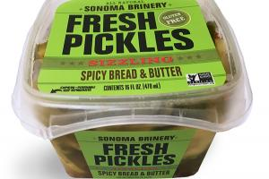 SPICY BREAD & BUTTER SIZZLING FRESH PICKLES