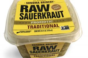 PROBIOTIC TRADITIONAL RAW SAUERKRAUT