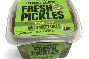 GLUTEN FREE TANGY WILD WEST DILLS FRESH PICKLES