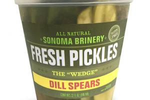 "DILL SPEARS THE ""WEDGE"" FRESH PICKLES"
