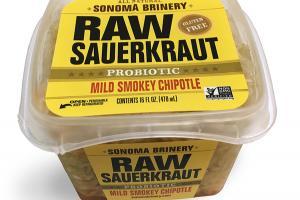 MILD SMOKEY CHIPOTLE PROBIOTIC RAW SAUERKRAUT