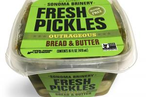 BREAD & BUTTER FRESH PICKLES