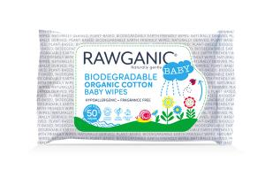 BIODEGRADABLE ORGANIC COTTON BABY WIPES