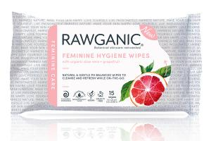 FEMININE HYGIENE WIPES WITH ORGANIC ALOE VERA + GRAPEFRUIT