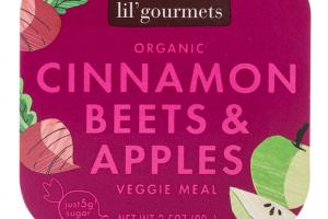 CINNAMON BEETS & APPLES ORGANIC VEGGIE MEAL