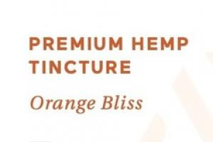 ORANGE BLISS 33MG THC-FREE PREMIUM HEMP TINCTURE DIETARY SUPPLEMENT