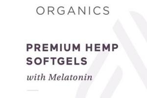 PREMIUM HEMP 25 MG WITH MELATONIN DIETARY SUPPLEMENT SOFTGELS