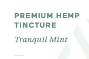 PREMIUM HEMP 16 MG DIETARY SUPPLEMENT TINCTURE, TRANQUIL MINT