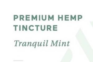PREMIUM HEMP 8 MG DIETARY SUPPLEMENT TINCTURE, TRANQUIL MINT