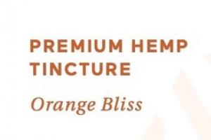 PREMIUM HEMP 50 MG DIETARY SUPPLEMENT TINCTURE, ORANGE BLISS