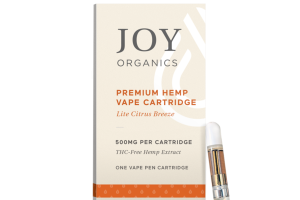 PREMIUM HEMP VAPE CARTRIDGE LITE CITRUS BREEZE THC-FREE HEMP EXTRACT