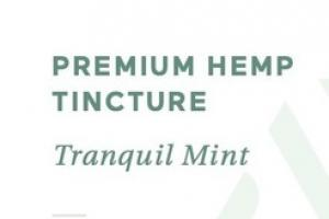 PREMIUM HEMP 50 MG DIETARY SUPPLEMENT TINCTURE, TRANQUIL MINT