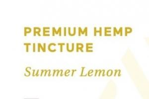 PREMIUM HEMP 50 MG DIETARY SUPPLEMENT TINCTURE, SUMMER LEMON