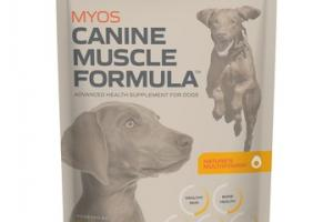CANINE MUSCLE FORMULA ADVANCED HEALTH SUPPLEMENT FOR DOGS
