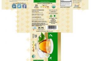 ORGANIC HERBAL SUPPLEMENT GREEN TEA