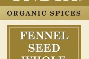 WHOLE FENNEL SEED ORGANIC SPICES