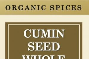 WHOLE CUMIN SEED ORGANIC SPICES