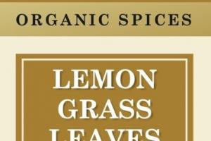 ORGANIC SPICES LEMON GRASS LEAVES