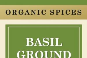 ORGANIC SPICES BASIL GROUND