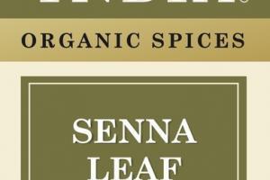 SENNA LEAF ORGANIC SPICES