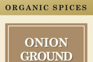 ONION GROUND ORGANIC SPICES