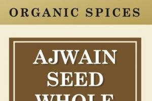 AJWAIN SEED WHOLE ORGANIC SPICES